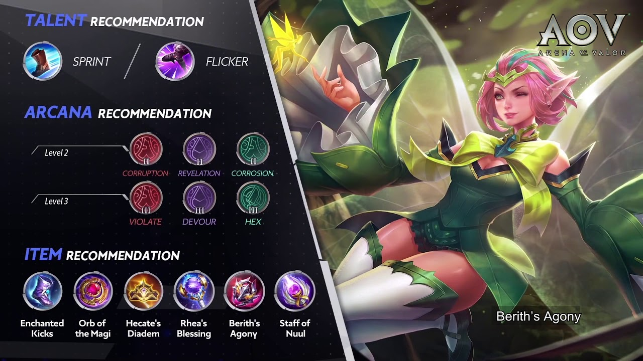 Road To Mastery Krixi Advanced Gameplay Guide Garena Aov Arena Of Valor