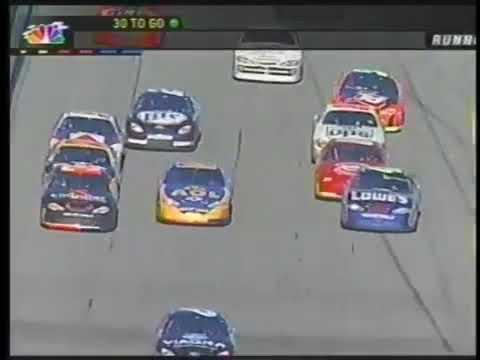 Jimmie Johnson Spin - NASCAR 2002 Daytona 500