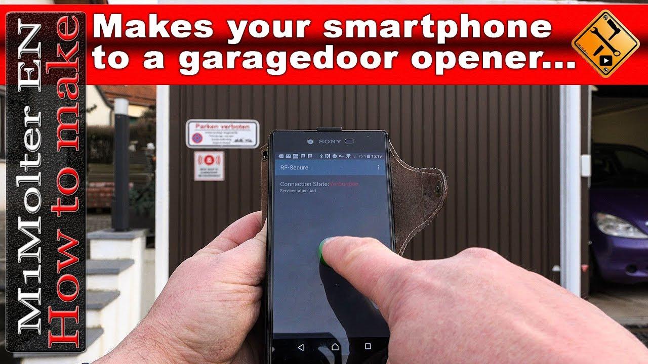 with open the way full garage door smartphone doors to easy ios size your opener or iphone of