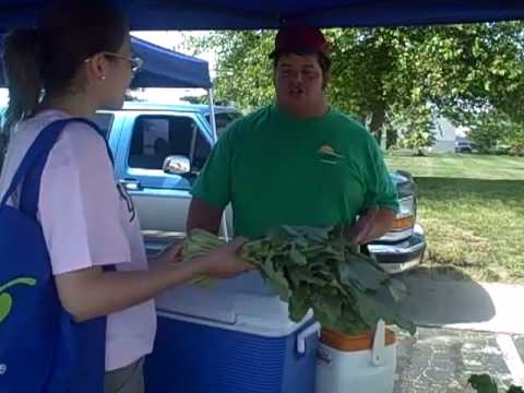 Indiana Dairy and Nutrition Council - @ The Farmers Market