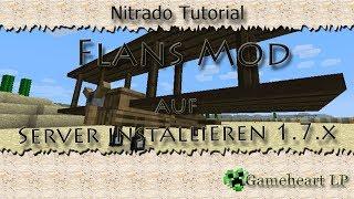 Nitrado Tutorial #5 - Flans Mod auf Server installieren 1.7.X