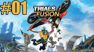 Trials Fusion - Gameplay ITA - Modalità Carriera - Let's Play #01 - Partiamo con i super salti