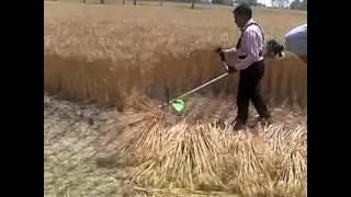 गैहूं फसल कटाई मशीन wheat cutting machine
