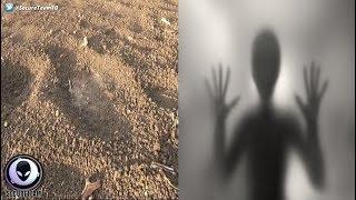 衝撃ニュース!インドの小さな村で「エイリアンらしき足跡」を発見!?