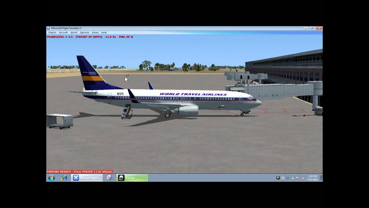 FSX- How to get Passengers/Baggage on the plane