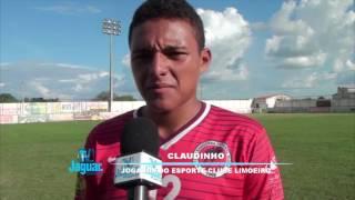 Lateral esquerdo Claudinho fala da expectativa da estreia do Esporte na 2ª