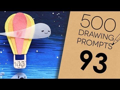 500 Prompts #93 - SMOKING HOT BALLOONS