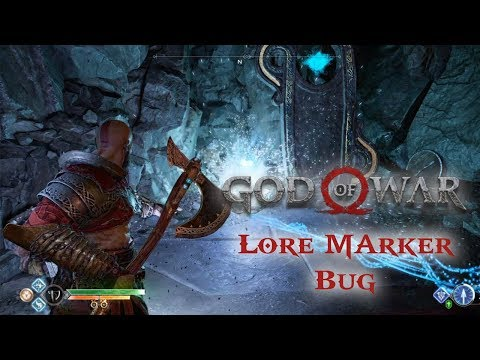 GOD OF WAR  Lore Marker bug The Mountains