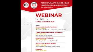Patogenesis, Risiko Tromboembolisme Vena dan Covid 19 Dr. Herwindo Pudjo Brahmantyo, SpPD Prophylaxi.