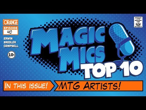 TOP TEN - MTG Artists!