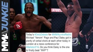Daily Debate: Is Paul 'Semtex' Daley the one to beat Michael 'Venom' Page at Bellator 216?