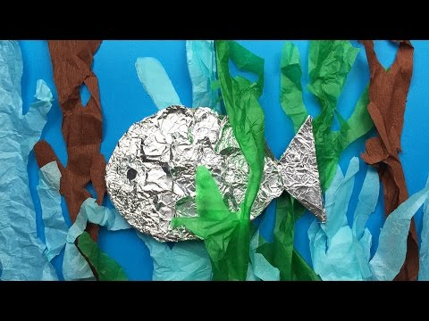 How To Make A Fish | Easy Art And Craft Project For Kids