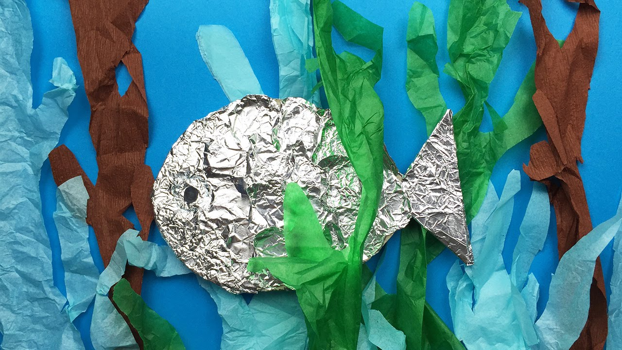 How To Make A Fish Simple Art And Craft Project For Preschool And