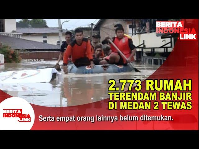 Banjir Merendam 2.773 Rumah di Medan