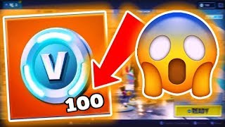 "HOW TO ""GET"" 100 V-BUCKS GRATIS EVERY 2/3 MINUTES ON FORTNITE!"