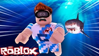 ROBLOX-KILLER SHARK ATTACK!!! (SHARK ATTACK)