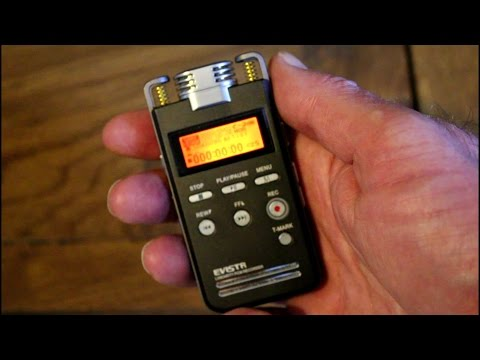 EVISTR L53 PCM digital audio recorder review, record your audio like the Pros!