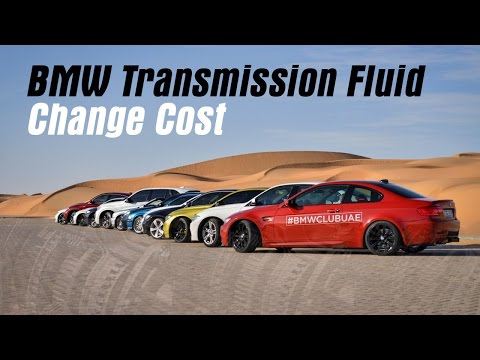 BMW Transmission Fluid Change Cost