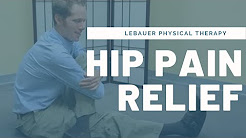 Hip Pain, Piriformis Syndrome & Sciatica Self Massage & Stretching - Greensboro, NC