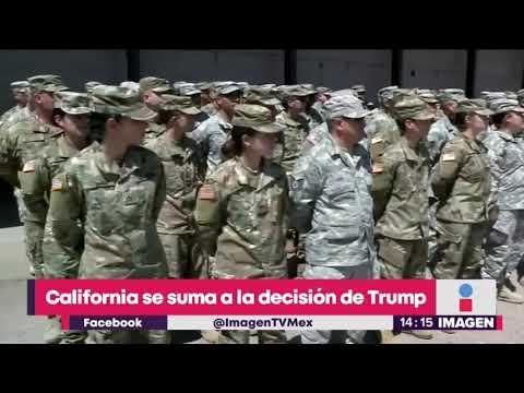 California se suma a militarizar el muro como pide Trump | Noticias con Yuriria Sierra
