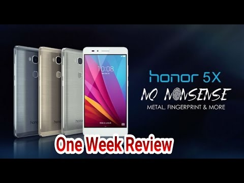 Huawei Honor 5X One Week Review: Best 200 Dollar Phone EVER 2016