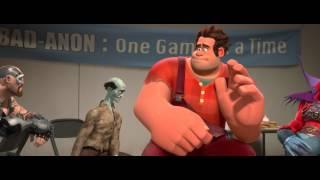 Räyhä-Ralf (Wreck-It Ralph) - suomeksi dubattu traileri