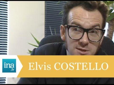 Interview exlusive d'Elvis Costello - Archive INA