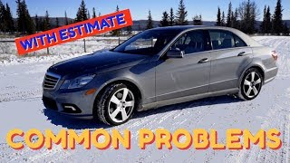 Used Mercedes Benz E Class Common Problems Faults and Issues | W212 S212 / 2009 - 2016 |