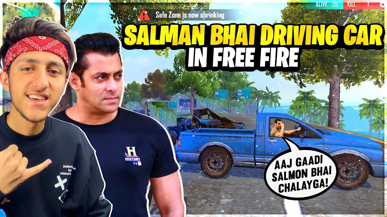 Salman Bhai Car Driving In Free Fire? Jolo Chip 20 Kills Challenge - Garena Free Fire