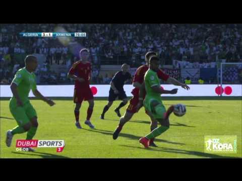 Algérie Vs Arménie 31/05/2014 HD - 2ème mi -temps [Sion-Suisse]