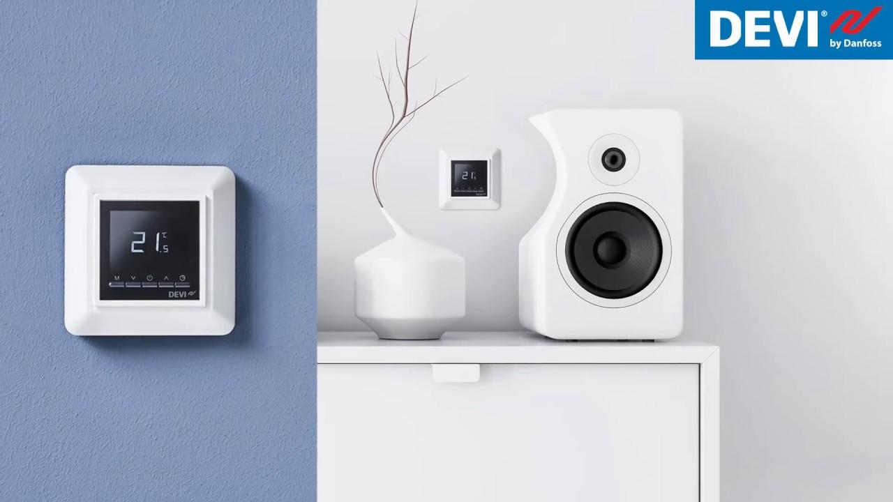 Modernistisk DEVIreg™ Opti elektronisk termostat - YouTube EP63