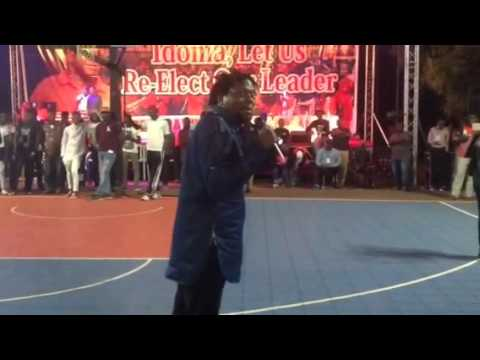 """Video (stand-up): Klint D Drunk Performing at Mark D Ball """"my direct mother, same mother same father"""""""
