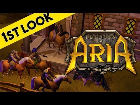 Legends of Aria – First Look At Gameplay (Ultima Online 2)