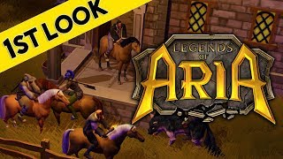 Legends of Aria - First Look At Gameplay (Ultima Online 2)