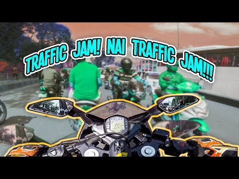 TRAFFIC JAM! NAI TRAFFIC JAM! | THE TRAFFIC CONDITION OF KATHMANDU | MOTOVLOG | NEPAL
