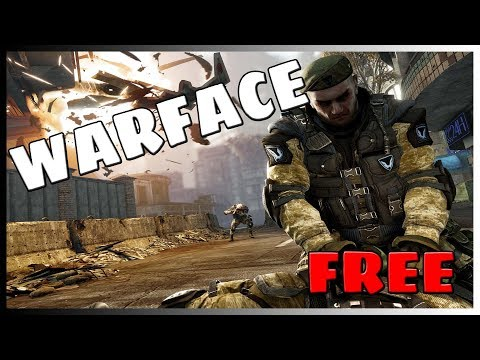 LIVE/ WARFACE /NEW FREE GAME ON PS4 STORE/FIRST PERSON MMO