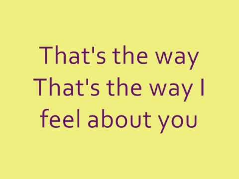 Rascal Flatts- The Way Lyrics