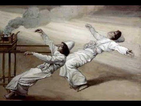מדוע נענשו נדב ואביהוא?! מפליא ביותר!!! -הרב אילן ויצמן
