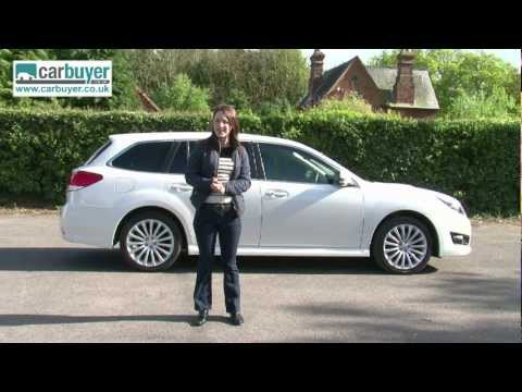 Subaru Legacy estate review CarBuyer