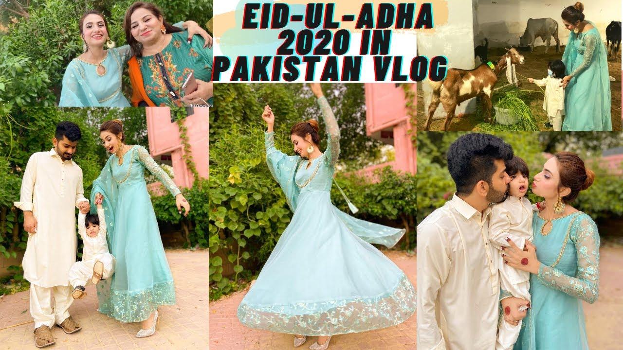 FIRST EID-UL-ADHA IN PAKISTAN WITH HUSBAND | SidraMehran VLOGS