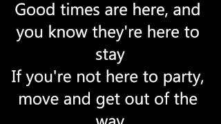 Paris Hilton - Good Time ( lyric video )