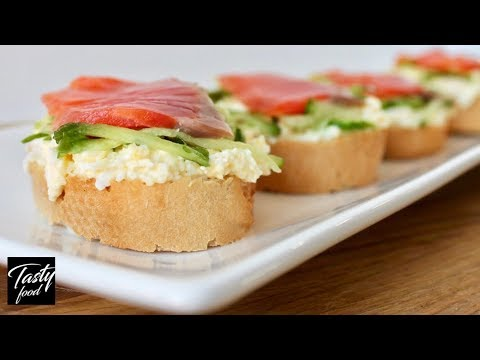 Вкуснейшая Закуска с Красной Рыбой, Заменит Любой Салат!