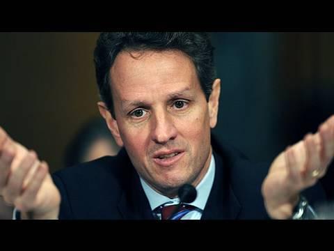 Cenk Vs. Michael Shure On Economy, Geithner