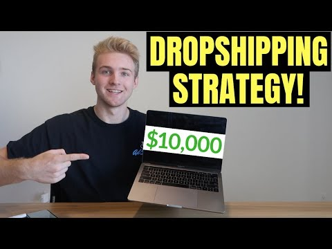 How To CONSISTENTLY Make $10,000+ PER MONTH On Shopify (Dropshipping Strategy)