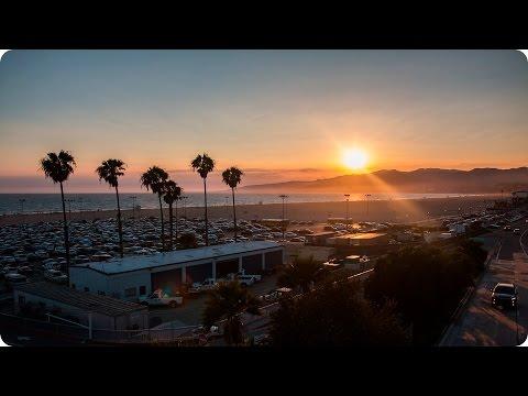 Santa Monica Sunset | Evan Edinger Travel