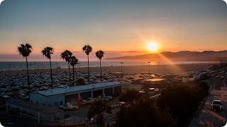Santa Monica Sunset   Evan Edinger Travel