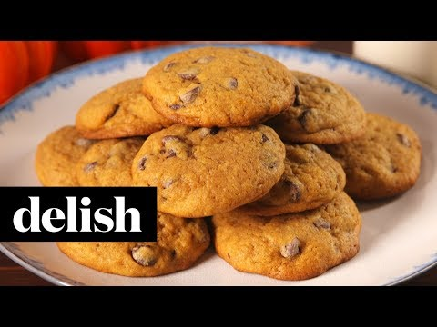 Pumpkin Spice Chocolate Chip Cookies | Delish