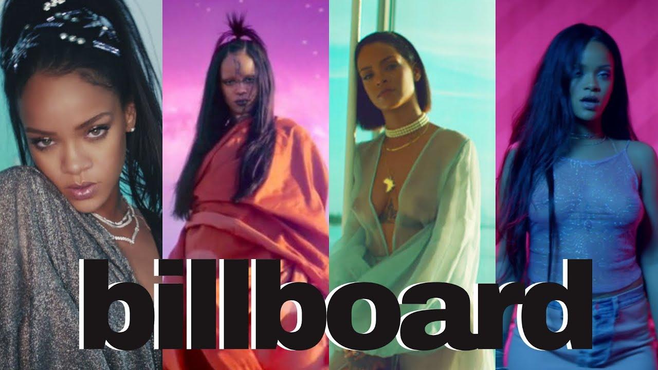 Rihanna´s Billboard Hot 100 History