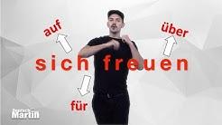 B 15 SICH FREUEN AUF / ÜBER / FÜR (Vokabular)