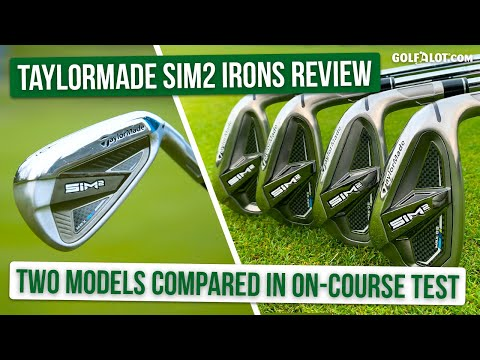 HUGE ON-COURSE IRONS TEST | TaylorMade SIM2 Max & Max OS Irons Golfalot Review